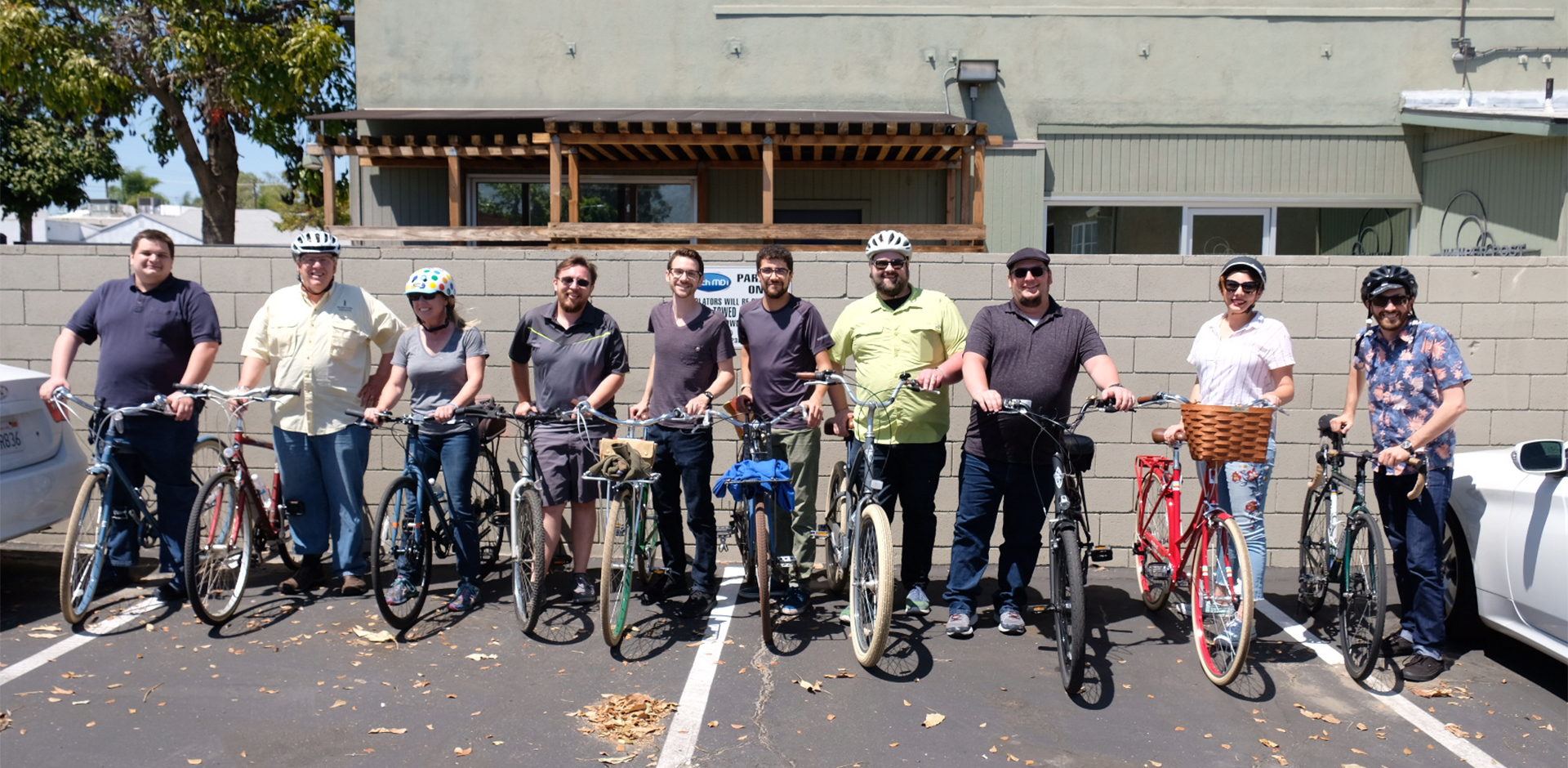 Celebrating Earth Day 2018 and Biking at TechMDinc